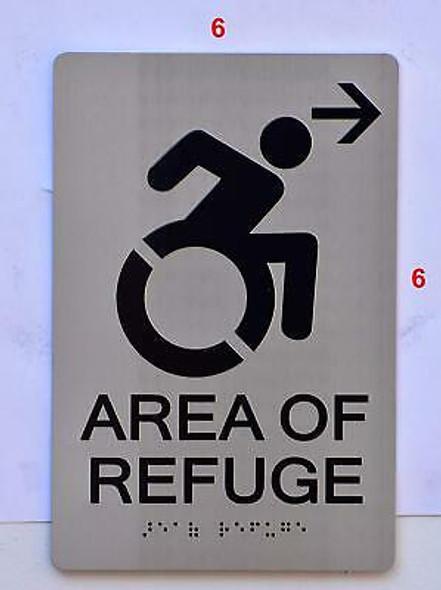 Sign Area of Refuge SIGN