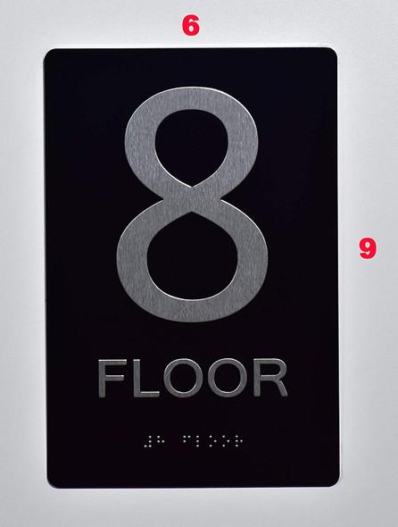 Sign 8 FLOOR