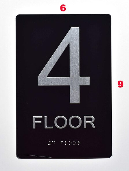 Sign 4 FLOOR