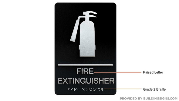 Compliance Sign-FIRE Extinguisher