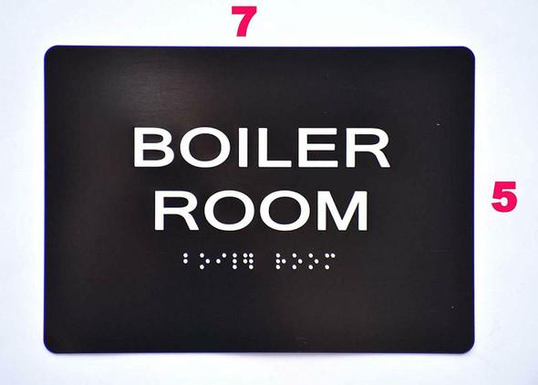 Compliance Sign-Boiler Room