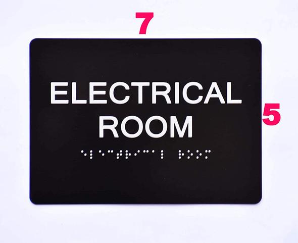 BUILDING MANAGEMENT SIGN- Electrical Room