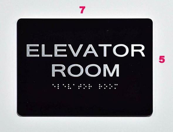 Sign Elevator Room