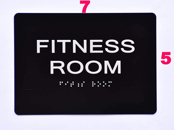 Sign Fitness Room