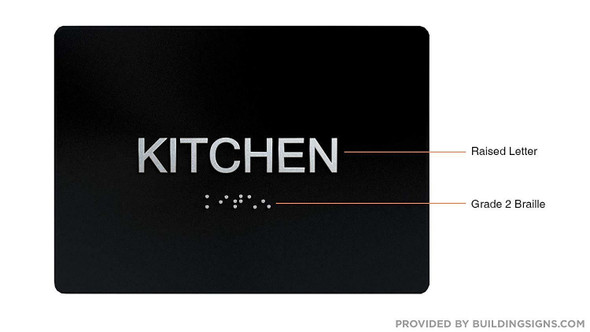 Compliance Sign-Kitchen