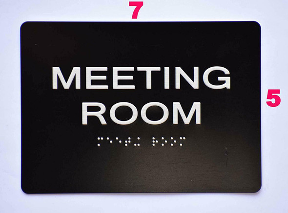 Compliance Sign-Meeting Room