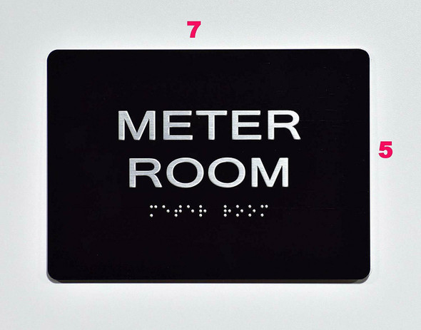 Compliance Sign-Meter Room