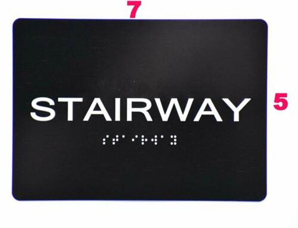 Compliance Sign-Stairway