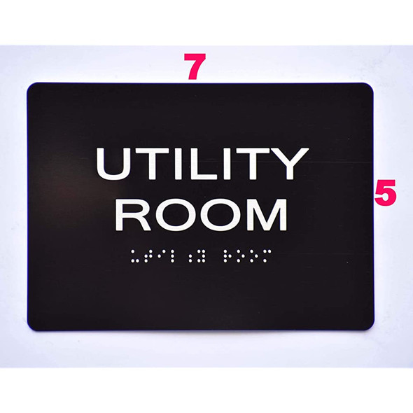 Compliance Sign-Utility Room