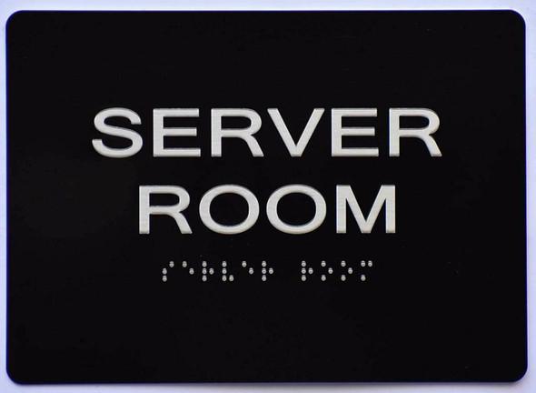 Server Room Sign
