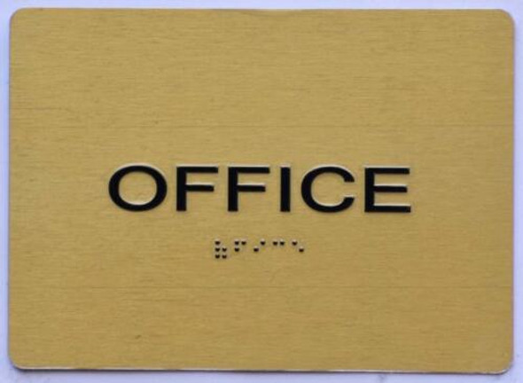 BUILDING MANAGEMENT SIGN- Office