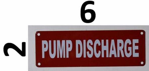 Sign Pump Discharge