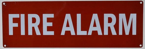 Sign  FIRE Alarm