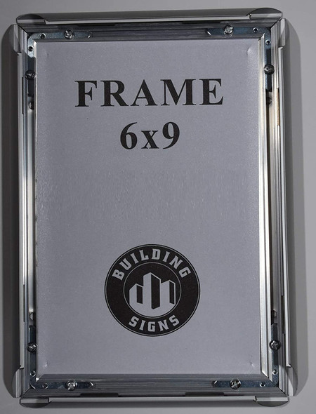 SIGNS License Permit Frame 6x9 (Front Open-