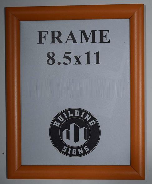 SIGNS Orange Snap Poster Frame/Picture Frame/Notice Frame