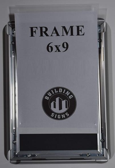 Elevator Certificate Notice Frame