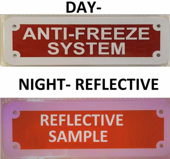 Sign Anti-Freeze System