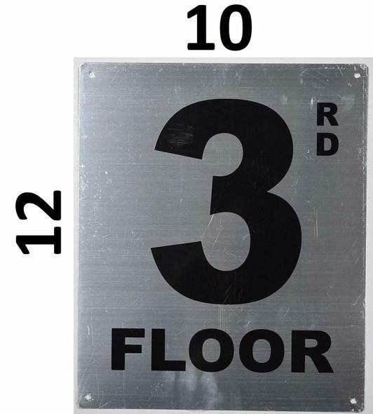 Fire Department Sign- 3rd Floor