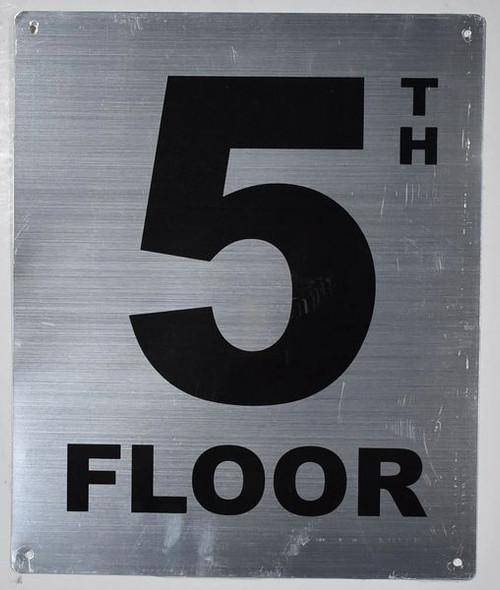 5th Floor Sign