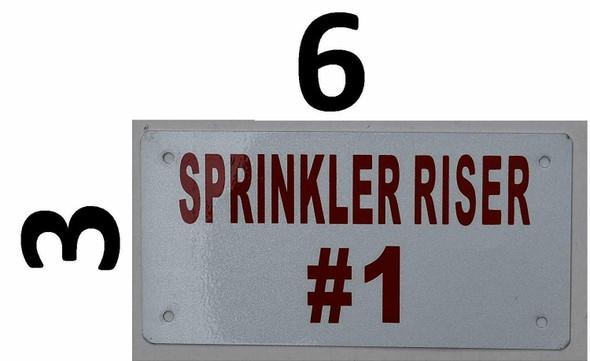 Compliance Sign- Sprinkler Riser #1