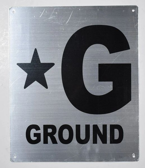 Fire Department Sign- *G Ground