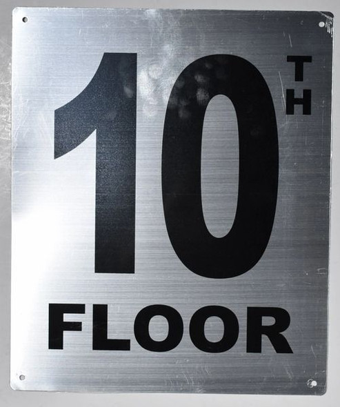 10TH Floor Sign