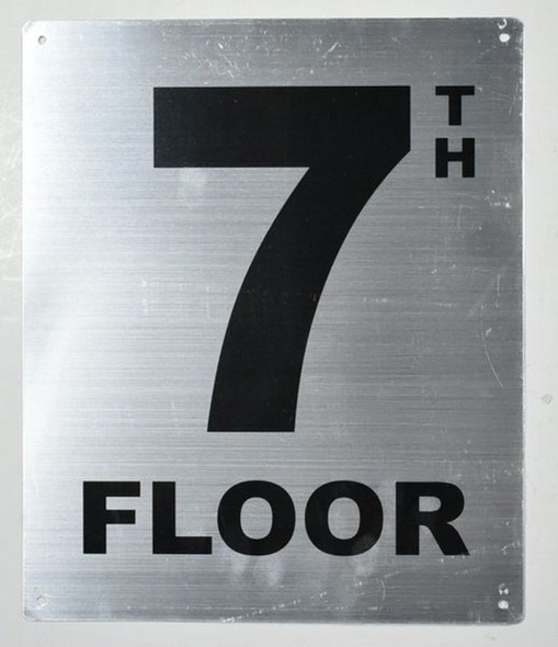 Fire Department Sign- 7TH Floor