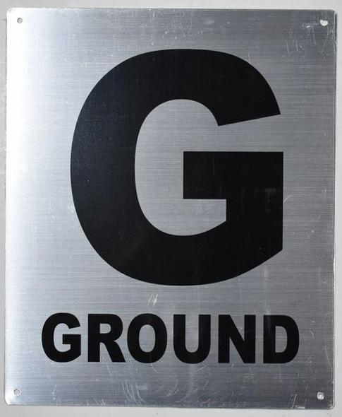 Fire Department Sign- G Ground Floor