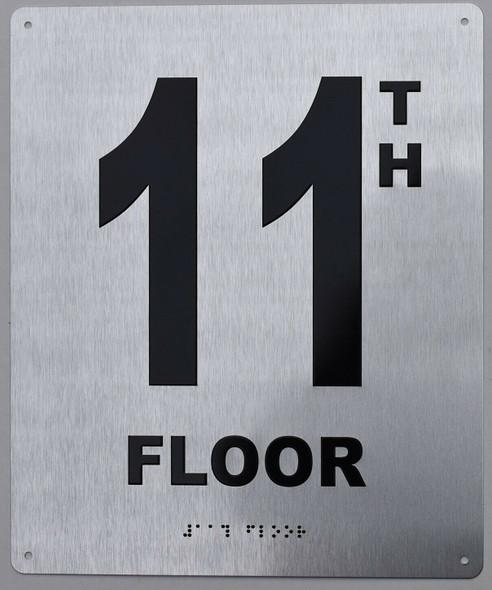 11TH Floor Sign