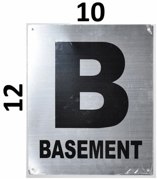 Fire Safety Sign- Basement