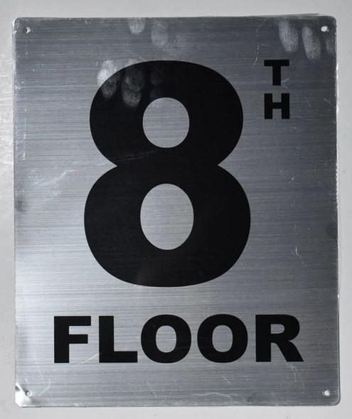 Fire Safety Sign- 8TH Floor