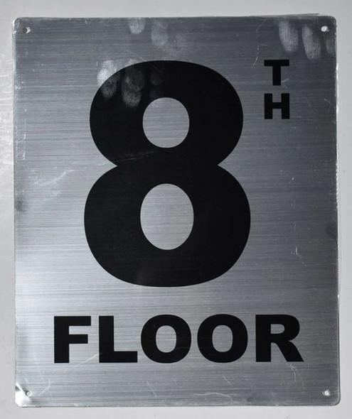 8TH Floor Sign