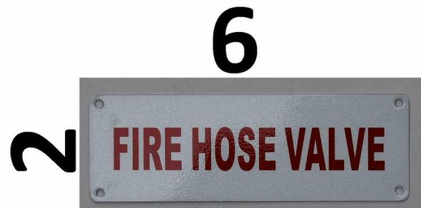Fire Department Sign- Fire Hose Valve
