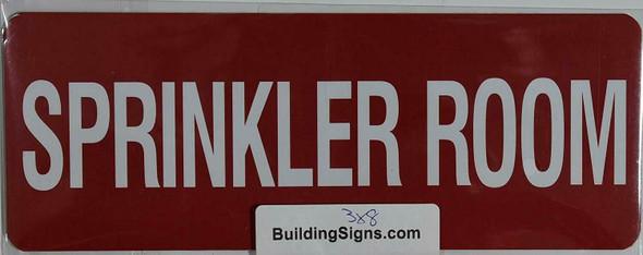 Sprinkler Room Sign