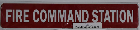FIRE Command Station Sign