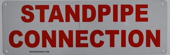 SIGNS Standpipe Connection Sign