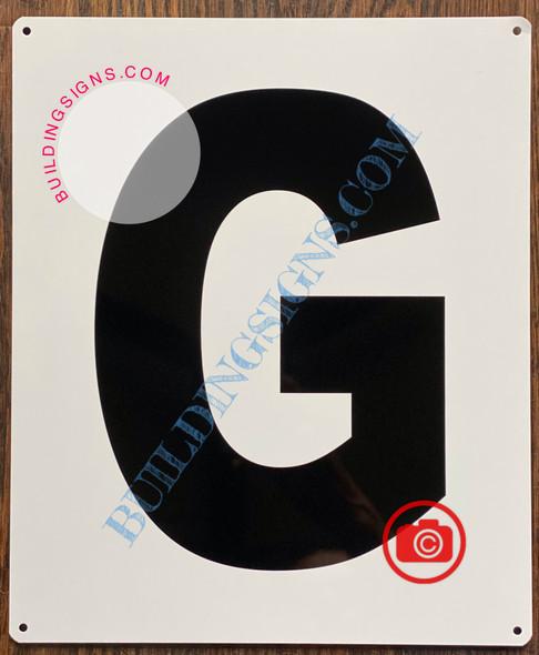 LETTER G SIGN