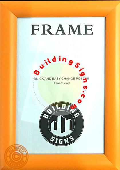 Orange Snap Poster Frame/Picture Frame/Notice Frame