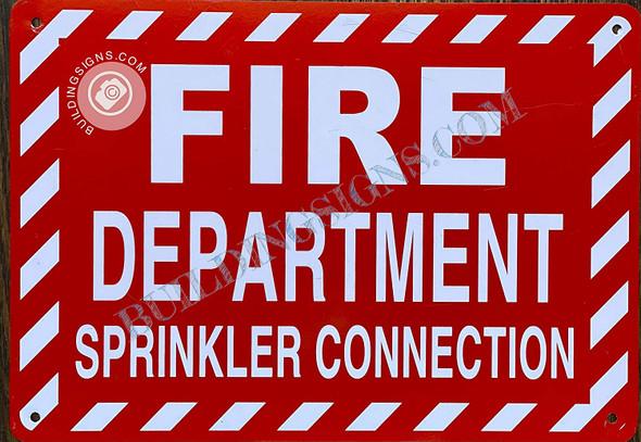FIRE Department Sprinkler Connection Singange