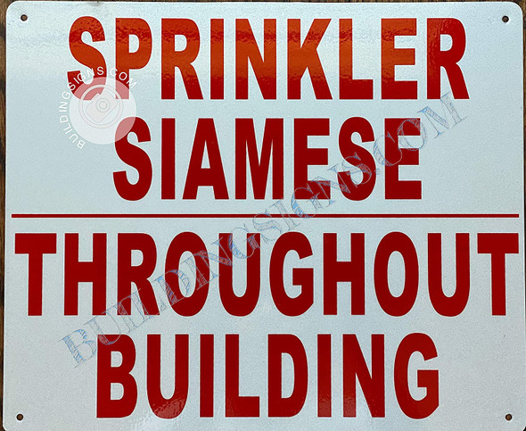 Sprinkler Siamese THROUGHT Building  Singange