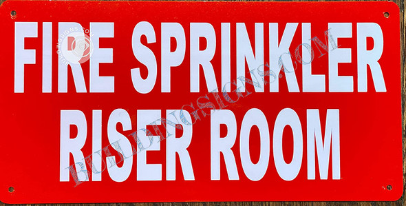 FIRE Sprinkler Riser Room  Singange