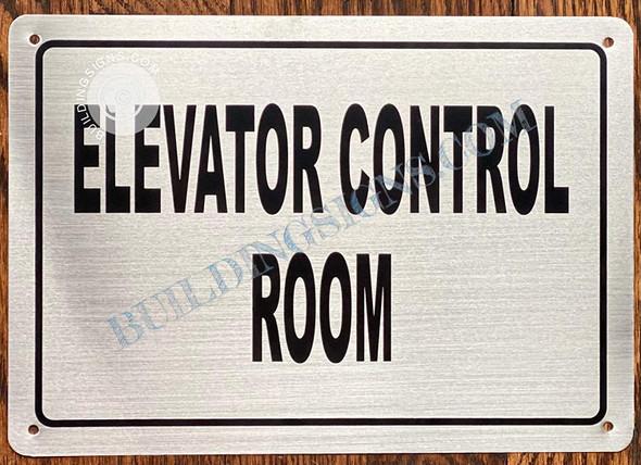 Elevator Control Sign