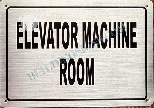 Elevator Machine Room  Singange