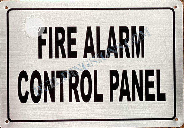 FIRE Alarm Control Panel Sign- FACP Sign