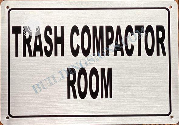 Trash Compactor Room  Singange
