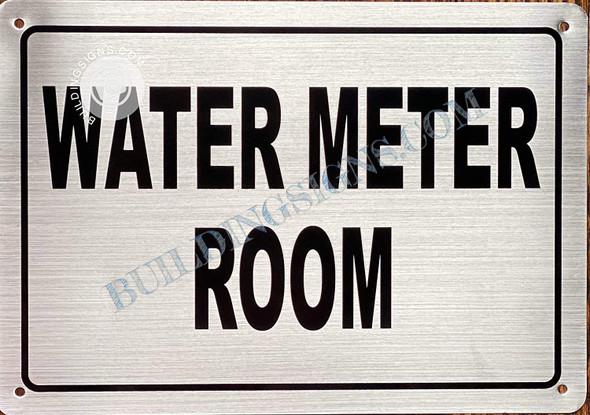 Water Meter Room Sign