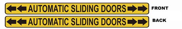 Automatic Sliding Doors Sticker   Singange