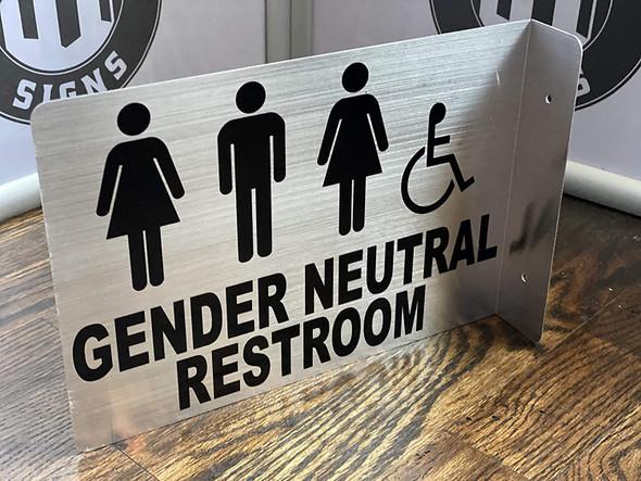 Gender Neutral Restroom Projection - Gender Neutral Restroom 3D  Singange