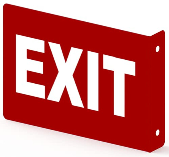 EXIT Projection Sign- EXIT 3D Sign