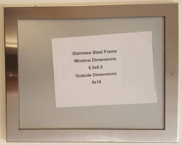 Elevator certificate frame  Singange